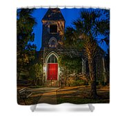 Lowcountry Church Shower Curtain