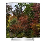 Lowcountry Fall Color Shower Curtain