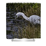 Lowcountry Fishing Shower Curtain