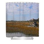 Lowcountry Playground Shower Curtain