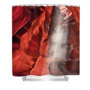 Upper Antelope Canyon Litebeam Shower Curtain