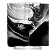 Lower Antelope Canyon Shrub Shower Curtain