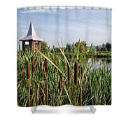 Lower Bruckland Nature Reserve Shower Curtain