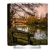 Lower Denford Hungerford Shower Curtain