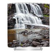 Lower Gooseberry Falls Shower Curtain