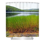 Lower Hadlock Pond Shower Curtain