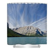 Lower Kananaskis Lake Shower Curtain
