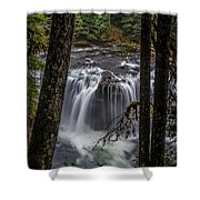 Lower Lewis Falls 3 Shower Curtain