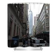 Lower Manhattan And The New World Trade Center Shower Curtain