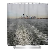 Lower New York Shower Curtain