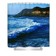 Lower Oregon Coast 2m Shower Curtain