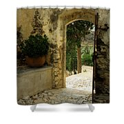 Lower Preveli Monastery Crete 3 Shower Curtain