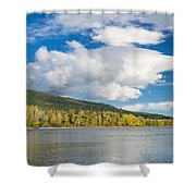 Lower Saint Mary Lake 1 Shower Curtain