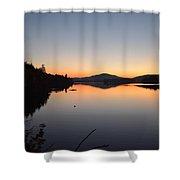 Lower Saranac Lake Shower Curtain