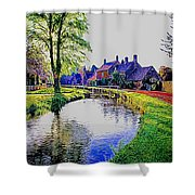 Lower Slaughter 1 Shower Curtain