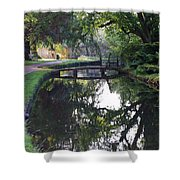 Lower Slaughter 2 Shower Curtain