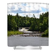 Lower Tahquamenon Falls L Shower Curtain