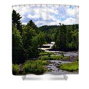 Lower Tahquamenon Falls Ll Shower Curtain