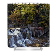Lower Taughannock Falls Shower Curtain