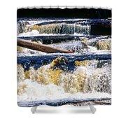 Lower Tequamenon Falls Shower Curtain