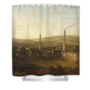 Lowerhouse Print Works, Burnley Shower Curtain