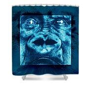 Lowland Gorilla Shower Curtain