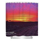 Loxley Al Sunset Dec 2013 I Shower Curtain