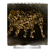 Loxodonta Shower Curtain