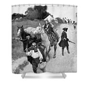 Loyalists To Canada Shower Curtain