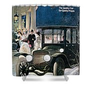 Lozier Cars - Vintage Advertisement Shower Curtain