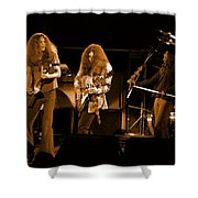 Ls Spo #21 In Amber Shower Curtain
