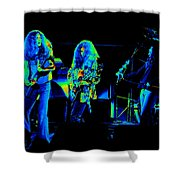 Ls Spo #21 In Cosmicolors Shower Curtain