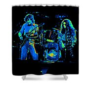 Ls Spo #33 Enhanced In Cosmicolors Shower Curtain