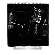 Ls Spo #35 Enhanced Bw Shower Curtain