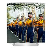 Lsu Marching Band 3 Shower Curtain