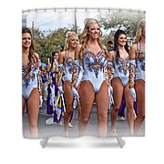 Lsu Marching Band 4 Shower Curtain