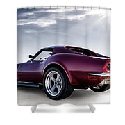Lt1 Stingray Shower Curtain