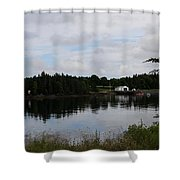 Lubec Channel Scenic View Shower Curtain