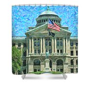 Lucas County Court House Shower Curtain