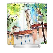 Lucca In Italy 06 Shower Curtain