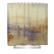 Lucerne From The Lake Shower Curtain