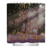 Luci Shower Curtain