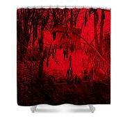 Lucifer's Gate Shower Curtain