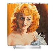 Lucille Desiree Shower Curtain
