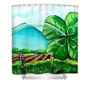 Luck Of The Dale Shower Curtain