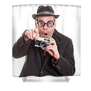 Luck Of The Draw Shower Curtain