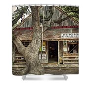 Luckenbach 2 Shower Curtain