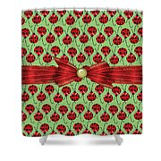 Lucky Ladybugs Shower Curtain