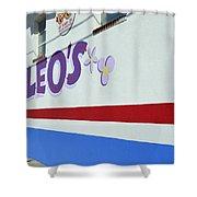 Lucky Leo's Shower Curtain