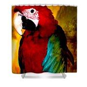 Lucky Look Bird Shower Curtain